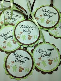 100 green and brown baby shower robot themed baby shower