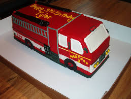 How To Decorate A Birthday Cake At Home Best 20 Fire Truck Cakes Ideas On Pinterest Firefighter