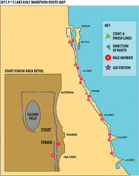 Illinois On Map by F3 Lake Half Marathon And 5k 2017 Chicago Il On January 28