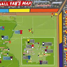 Chelsea Map Football Fan U0027s Stadium Map By Maps International