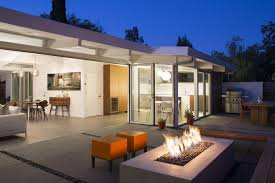 eichler home modern home outdoor space hgtv