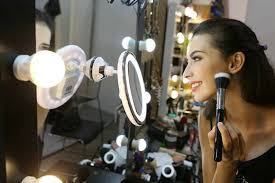 sanheshun 7x magnifying lighted travel makeup mirror 7 best lighted makeup mirrors for flawless makeup shades of a