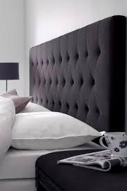 Design Ideas For Black Upholstered Headboard Headboard Black Iemg Info