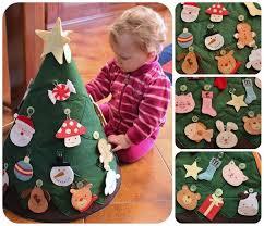 Kid Crafts For Christmas - wonderful kids crafts diy felt christmas tree