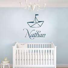 sticker chambre bébé garçon stickers bateau 2