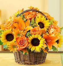 autumn flowers fields of fall basket kremp com