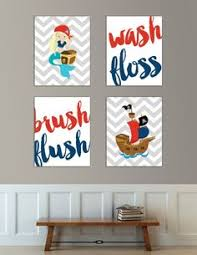 Kids Pirate Bathroom - pirate boy bathroom art prints bathroom art art prints and prints