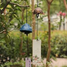 metal ornaments home decor japanese style metal wind chimes manualidades ornaments hanging