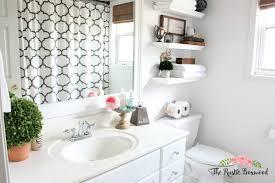 guest bathroom makeover reveal