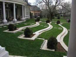 courtyard landscape designs artenzo