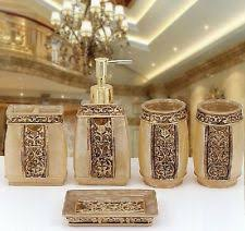 silver toothbrush holder tumbler bath accessory sets ebay