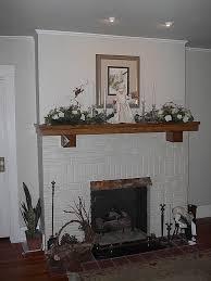 easy create faux fireplace mantel u2014 interior exterior homie
