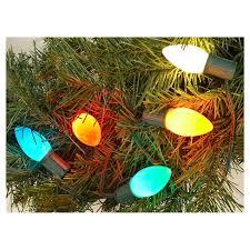 c9 incandescent light strings 25ct incandescent c9 ceramic multicolored string lights wondershop