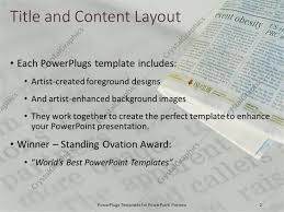 100 newspaper template ppt powerpoint template the word