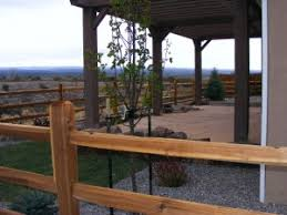 Flagstone Patio With Pergola Bristlecone Landscapes A Full Landscape Install With A Raised