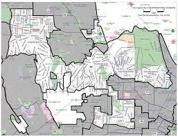 City Of Los Angeles District Map by Final District Maps Sent To City Council Park Labrea News