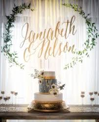 wedding backdrop name design wedding backdrop with fairy lights photo by samuel goh