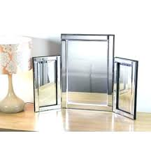 Tri Fold Mirrors Bathroom Tri Fold Dresser Mirror Image For Fold Mirror Bathroom Fold