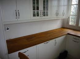 faire un plan de travail cuisine pose plan de travail cuisine inspirations et beau fixer plan de