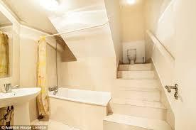 Split Level Bedroom by One Bedroom Stoke Newington Flat With Split Level Bathroom Is Sold