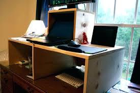 Diy Glass Desk Computer Built Into Desk Computer Desk Built In Usb Eatsafe Co