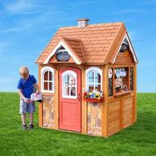 Backyard Cedar Playhouse by Play House So Cute We Built The Extra Little Deck For It At