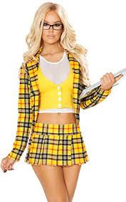 clueless costume clueless plaid blazer and skirt