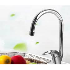 one kitchen faucets kitchen faucets single handle brass one chrome