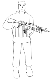 soldier coloring pages wecoloringpage