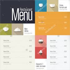 29 menu design templates u2013 free sample example format download