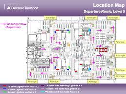Hong Kong International Airport Floor Plan Advertising At Hong Kong International Airport North Satellite