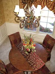 Decorate Round Dining Table How To Decorate Dining Room Table Marceladick Com