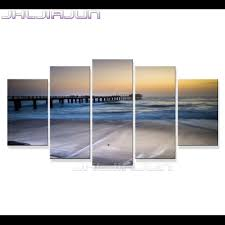 compare prices on free posters kids online shopping buy low price 5 piece canvas art home decorations nordic kids decor posters witcher modular pictures modern sea view