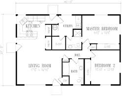 two bedroom cottage plans small 2 bedroom cottage floor plans www redglobalmx org