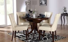 selecting the right type of round dining table and chairs u2013 home decor