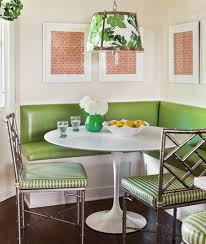 Dining Room Banquette Bench Dining Room Awesome Dining Room Design With Small White Pedestal