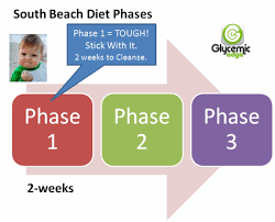 south beach diet phase 1 u2013 glycemic index