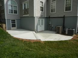 Poured Concrete House by Concrete Patios U0026 Walkways American Exteriors U0026 Masonry