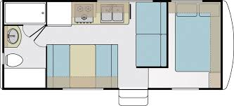 nash travel trailer floor plans arctic fox 22h floorplan www trailerlife com