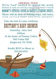 fishing themed baby shower fishing themed printable baby shower invitation