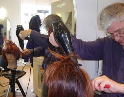 lesson plan for teaching how to blowdry hair learning task junior hairdresser blow drying
