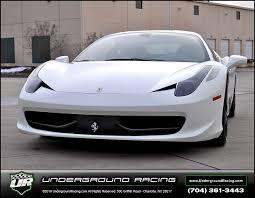 silver 458 italia racing presents 458 italia turbo kit