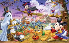halloween cartoon mickey and minnie mouse donald duck pluto hd