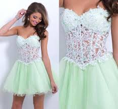 tulle homecoming dress lace homecoming dress mint green homecoming