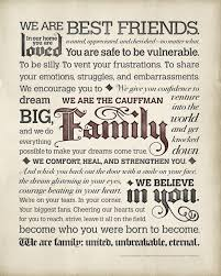 the personalized family manifesto poster from manifestos