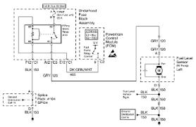 1999 chevrolet corvette fuel pump relay control circuit and the