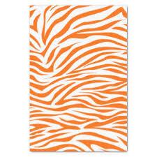 zebra tissue paper animal print craft tissue paper zazzle