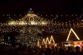 christmas light show toronto toronto christmas market rediscover the magic romance of christmas
