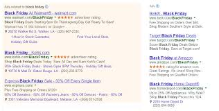 print target black friday ads blurred lines for sponsored ads the new google search results