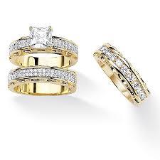 gold wedding ring sets 14k gold wedding ring kubiyige info